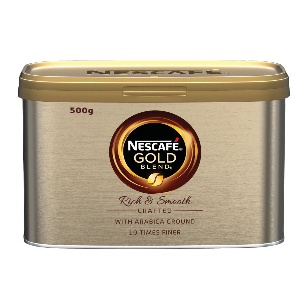 Nescafe Gold Blend Instant Coffee 500g Tin - 12284101