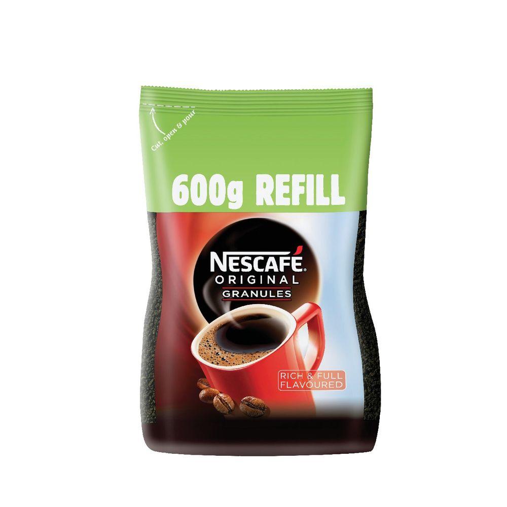 Nescafe Original Instant Coffee Granules Refill 600g - 12315643