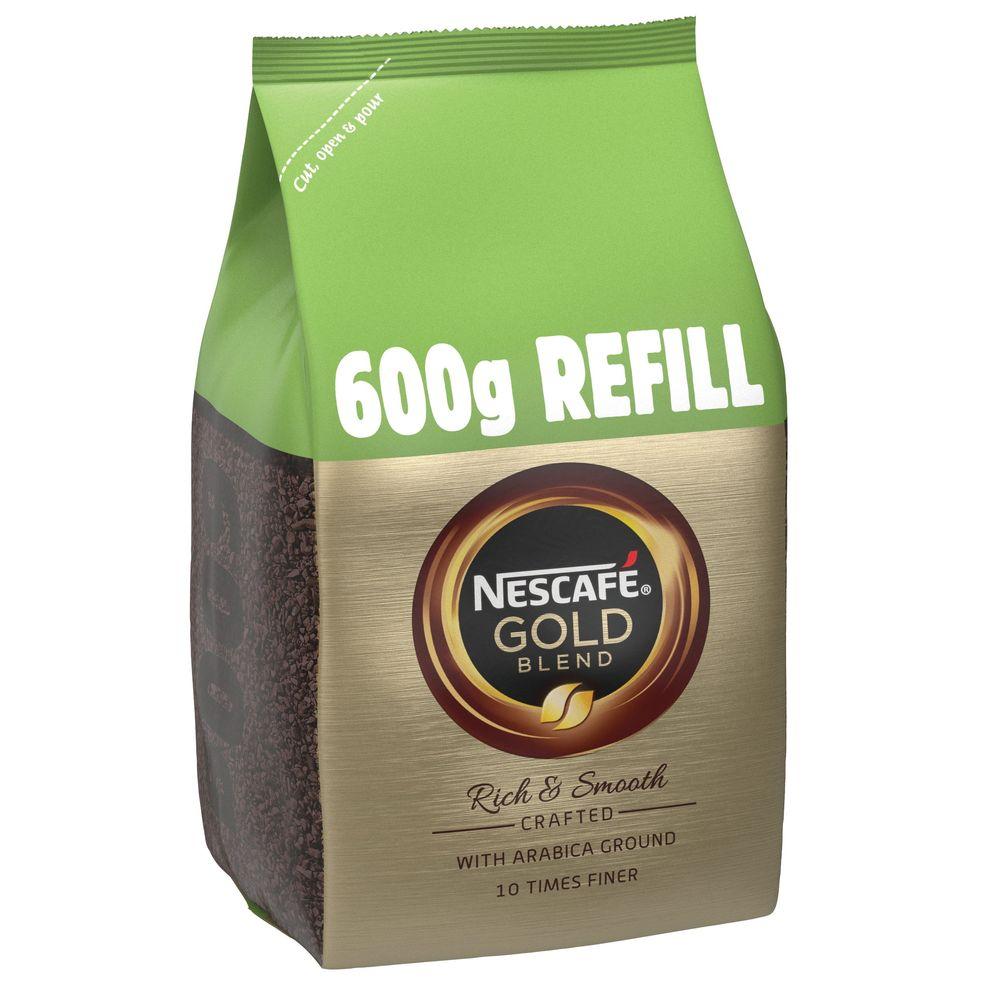 Nescafe Gold Blend Coffee Refill Pack 600g - 12226527