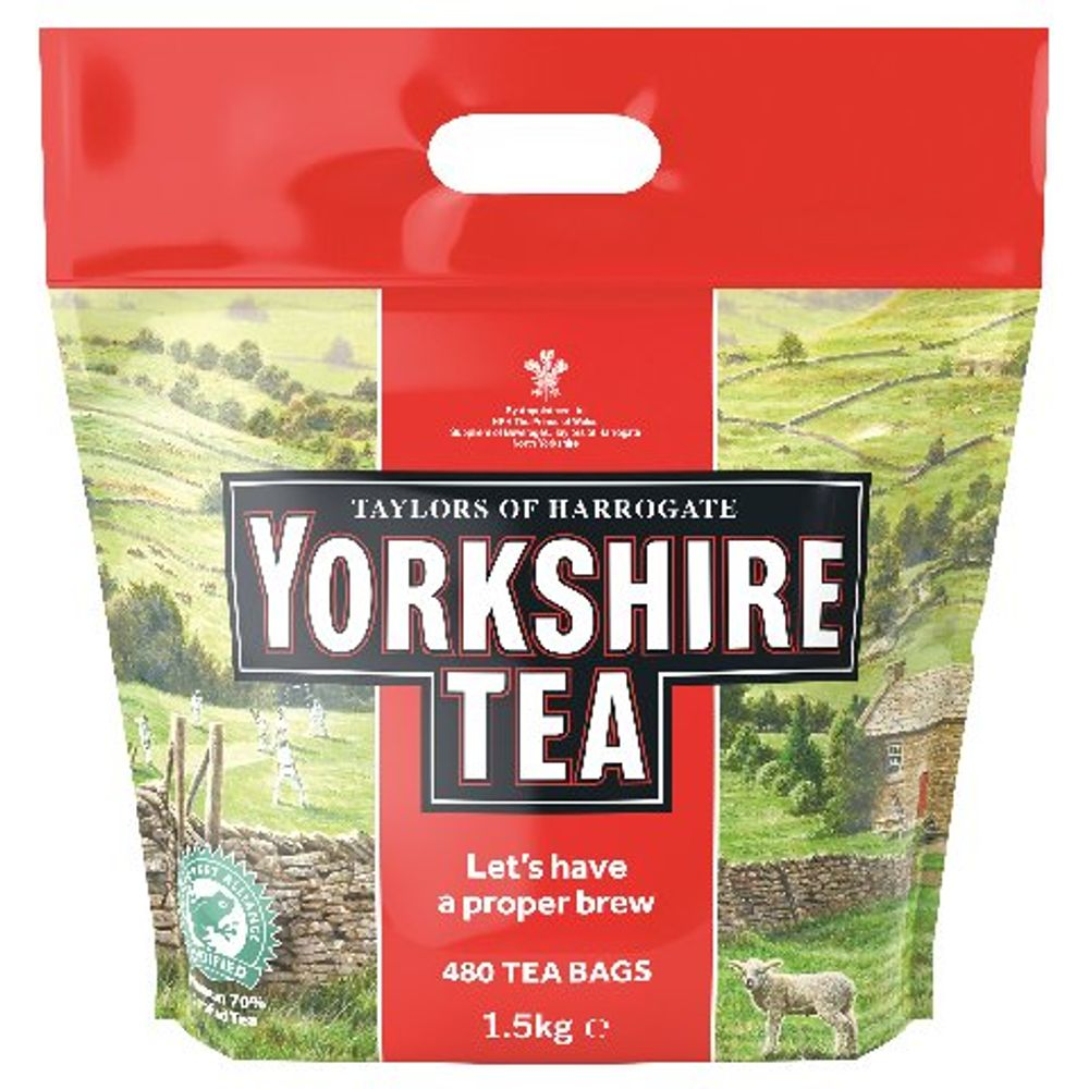 Yorkshire Tea Bags, Pack of 480 - A03059