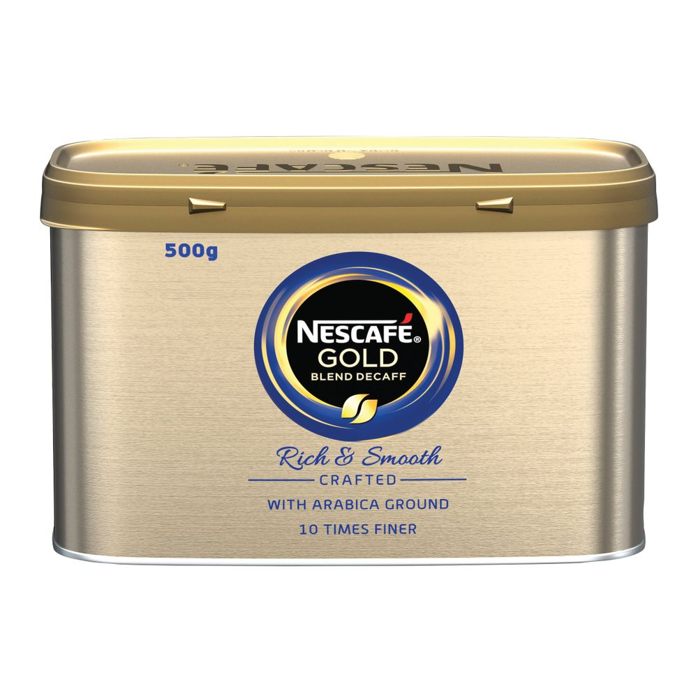 Nescafe Gold Blend Decaffeinated Instant Coffee 500g