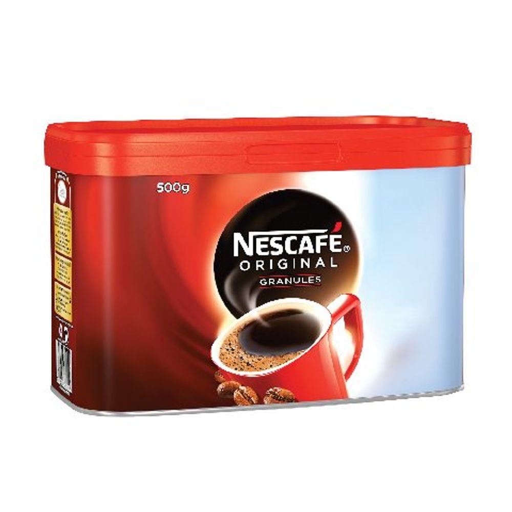 Nescafe Original Coffee Granules, 500g Tin - 12081372