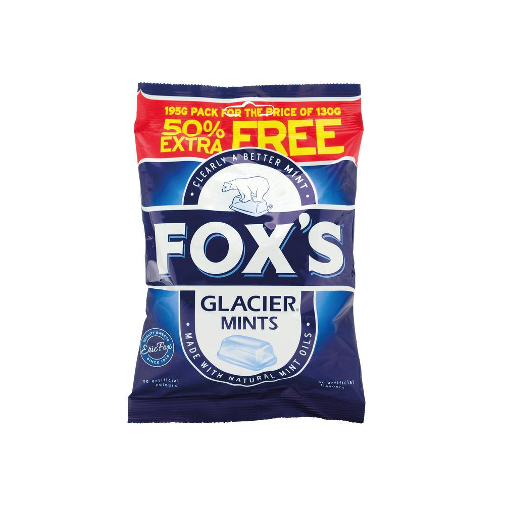 Fox's Glacier Mints 200g, Pack of 12 - 0401004