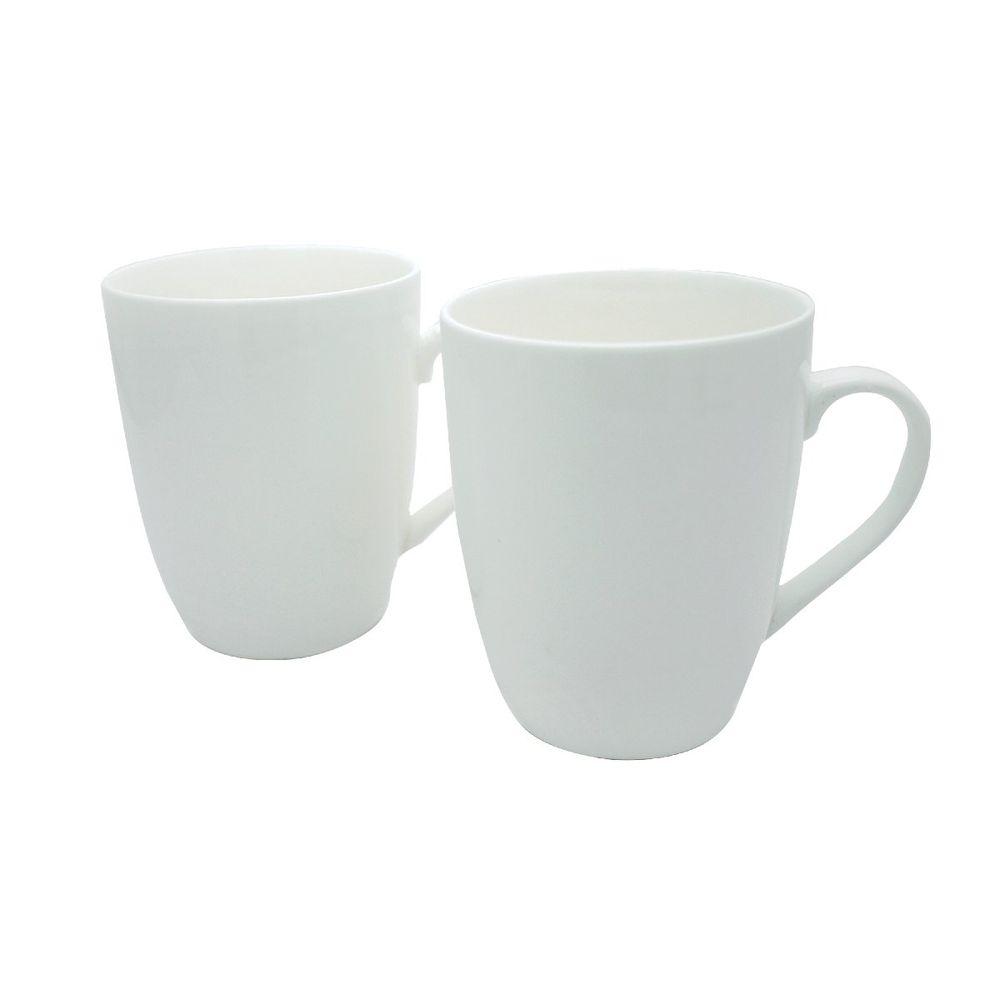 12oz Bullet Mug White (Pack of 12) P1160116