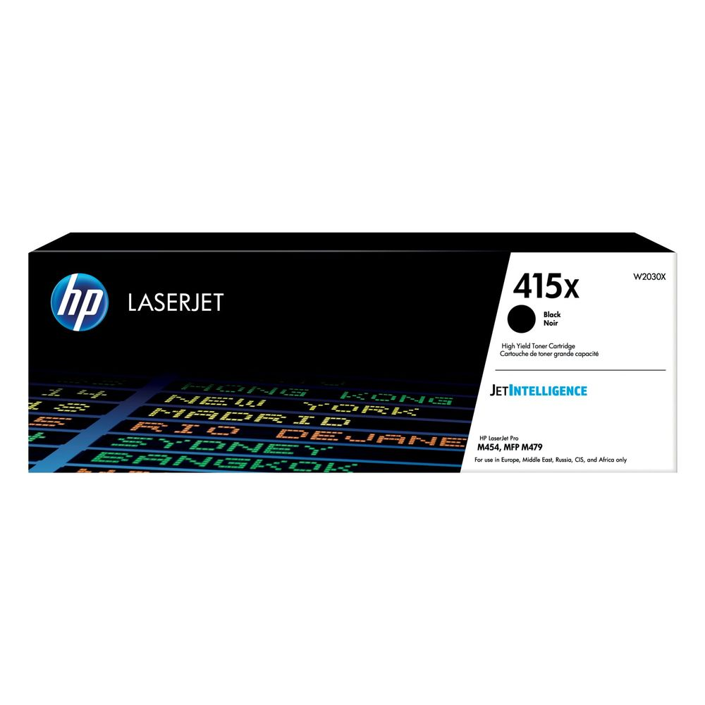 HP 415X Black LaserJet Toner Cartridge W2030X