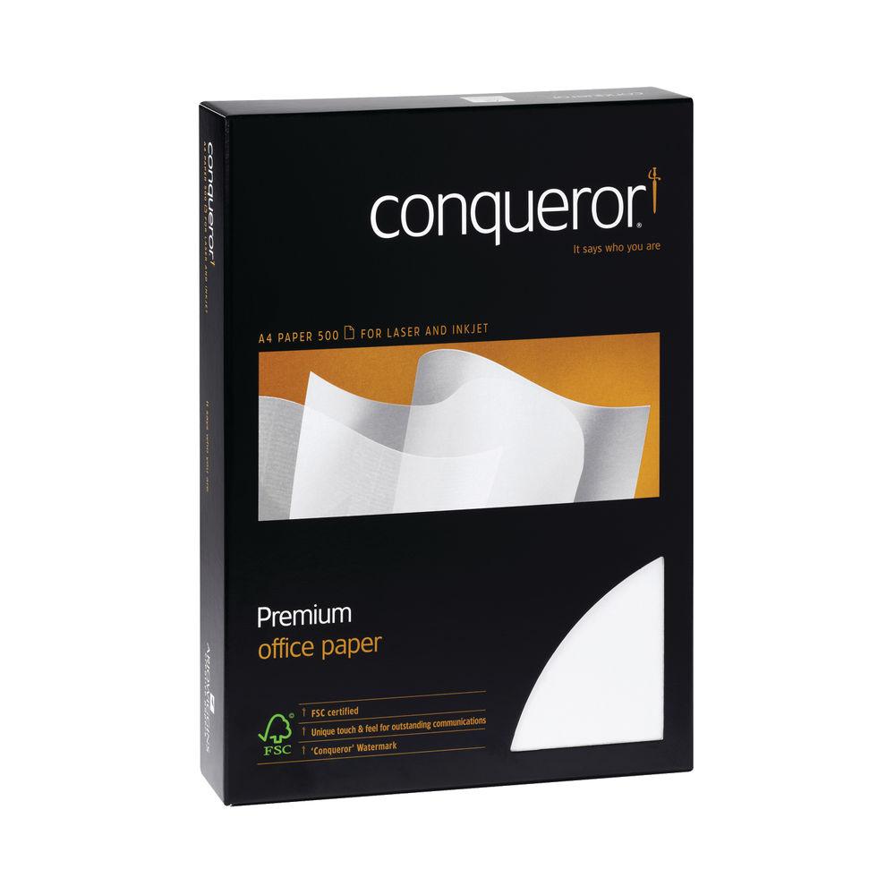 Conqueror Cream A4 100 gsm Paper (Pack of 500) - CQW0324CRNW