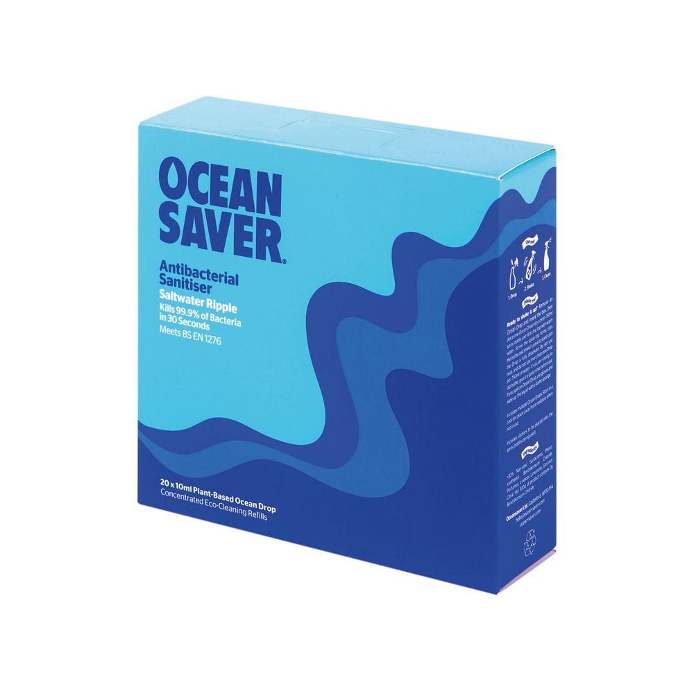 Ocean Saver Antibacterial Sanitiser (Pack of 20) - 319334OCS