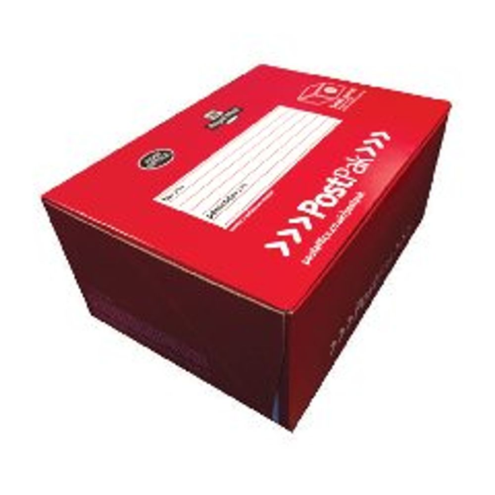 PostPak Small Parcel Shoe Box 350 x 250 x 160mm POF71026