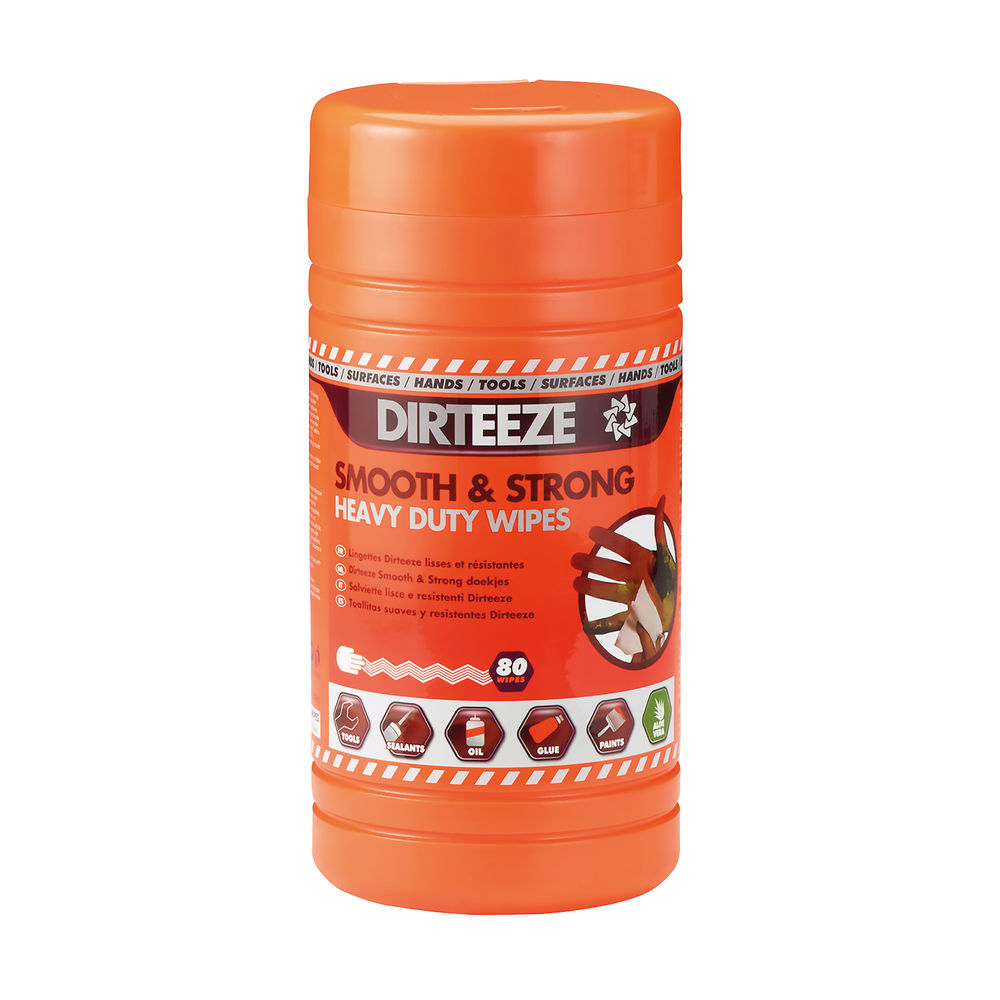Dirteeze Smooth and Strong Heavy Duty Wipes - DGCL