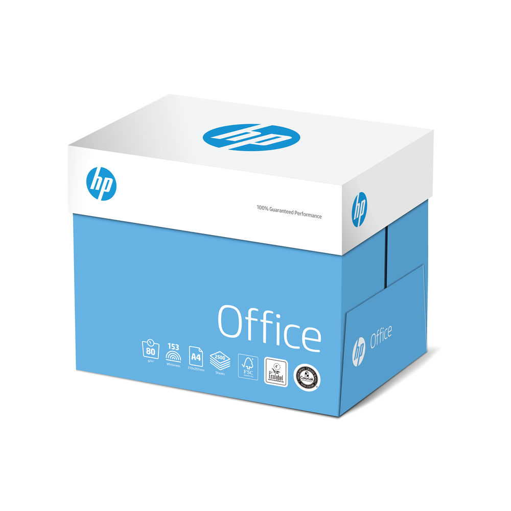 HP Office A4 80g QuickPack (Pack of 2500) CHPOP080X741