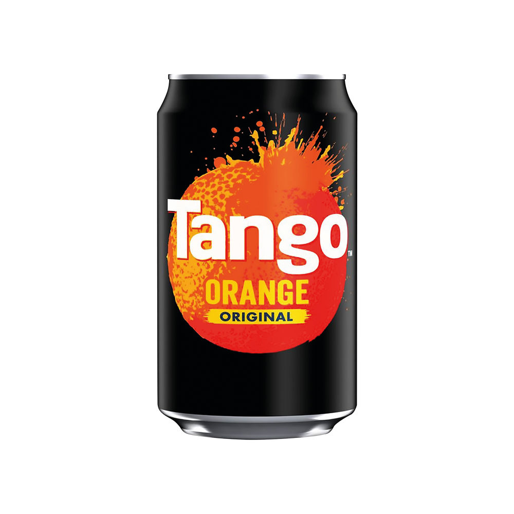 Tango Orange 330ml Cans, Pack of 24 - 402011