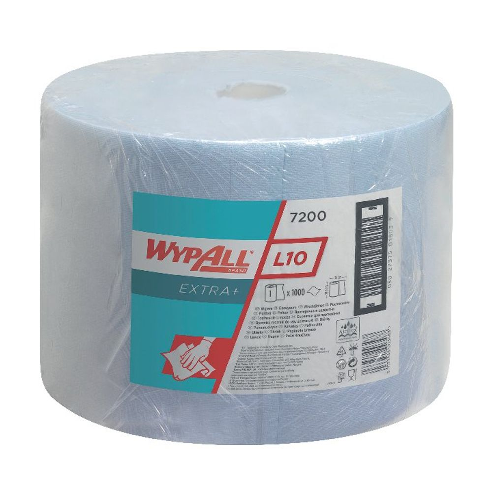 Wypall L10 Extraplus Wipes - 7200