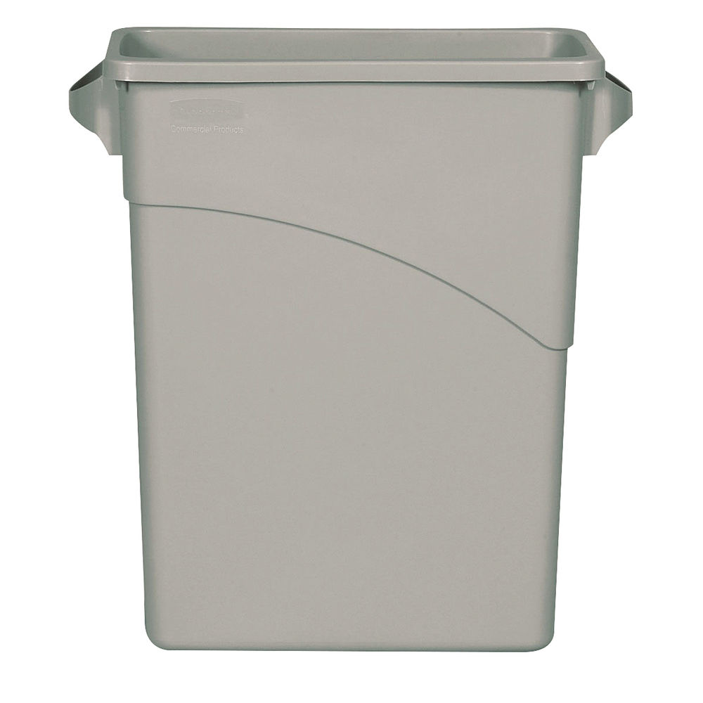 Rubbermaid Grey 60 Litre Slim Jim Container - 3541-GRY/R001192