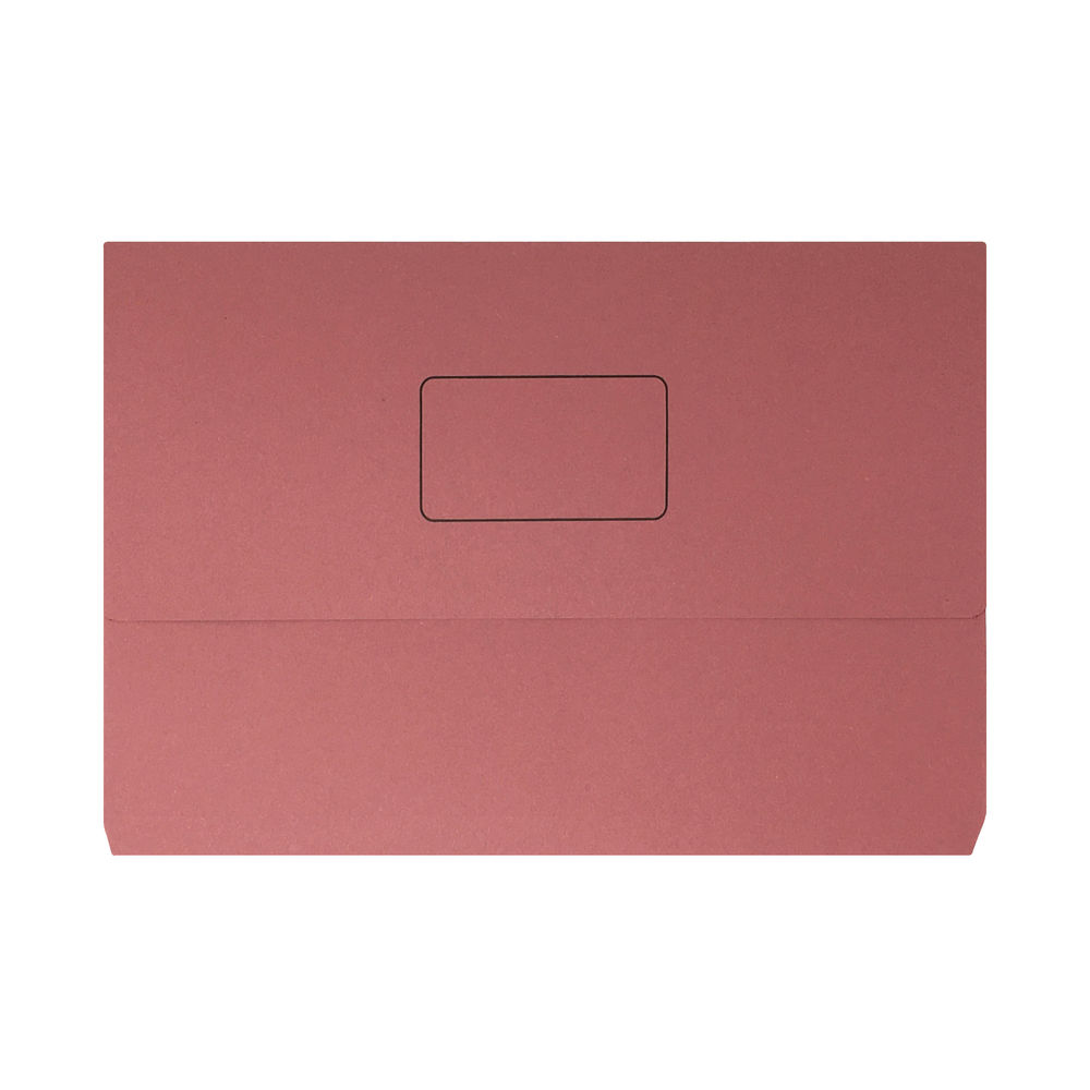 Pink Foolscap Document Wallets, Pack of 50 - 45917EAST
