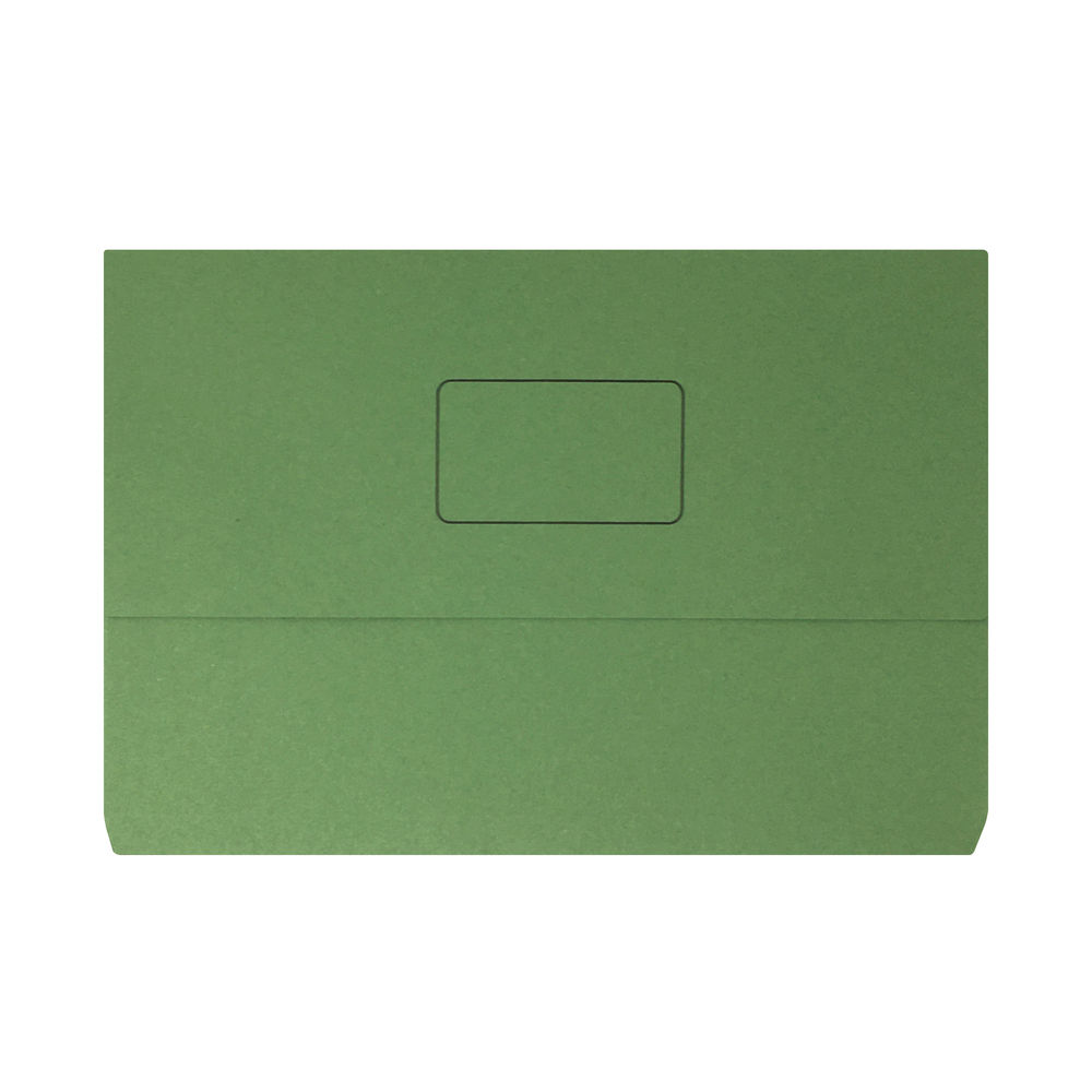 Green Foolscap Document Wallets (Pack of 50) - 45914EAST