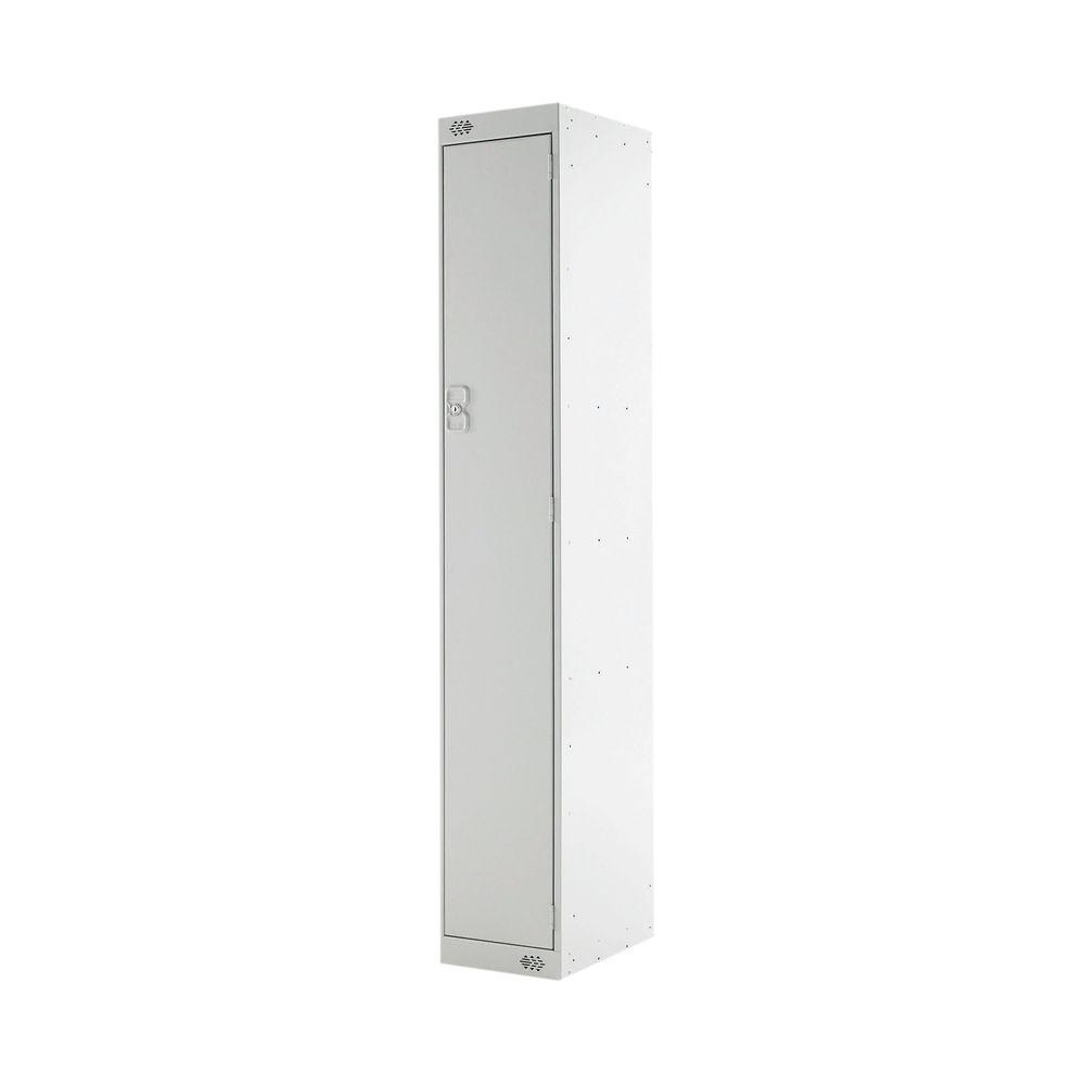 One Compartment D300mm Light Grey Express Standard Locker - MC00137