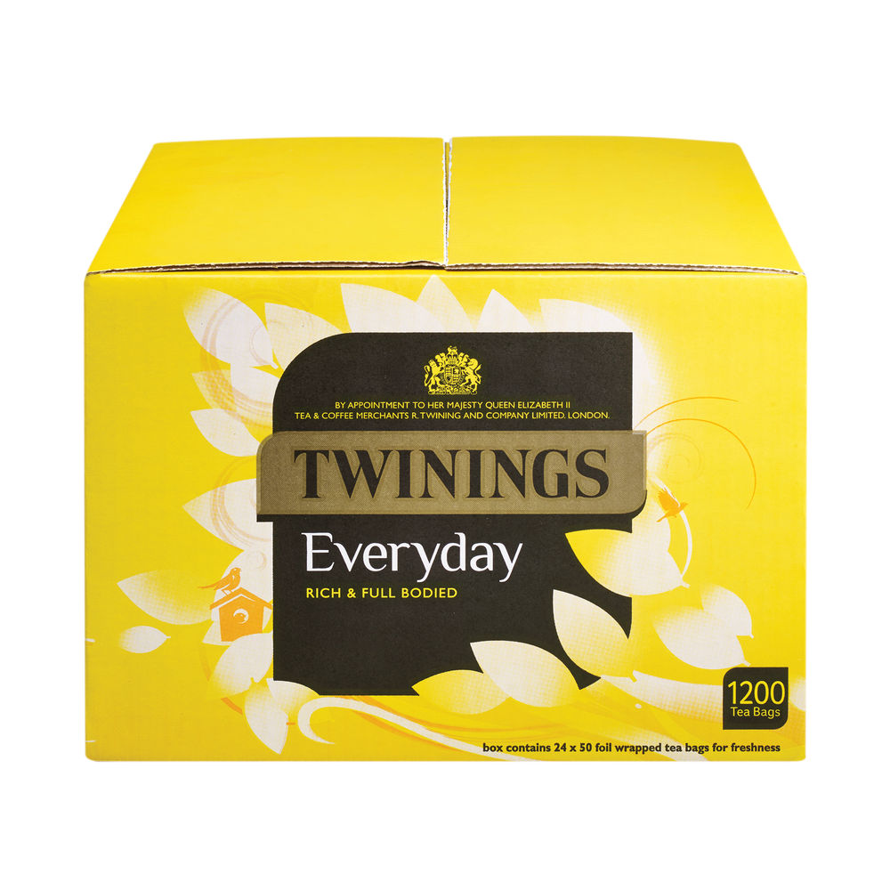 Twinings Everyday Tea Bags, Pack of 1200 - F13681