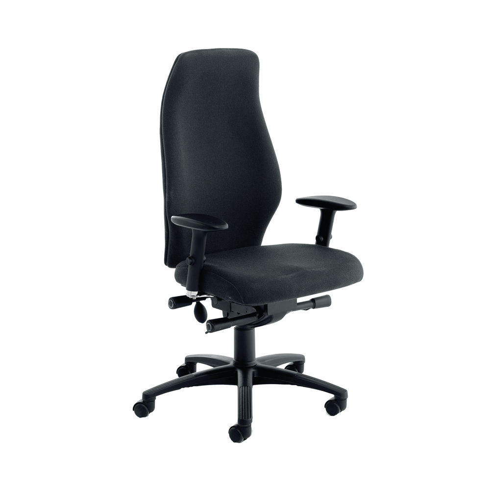 Cappela Dynamic Black High Posture Office Chair