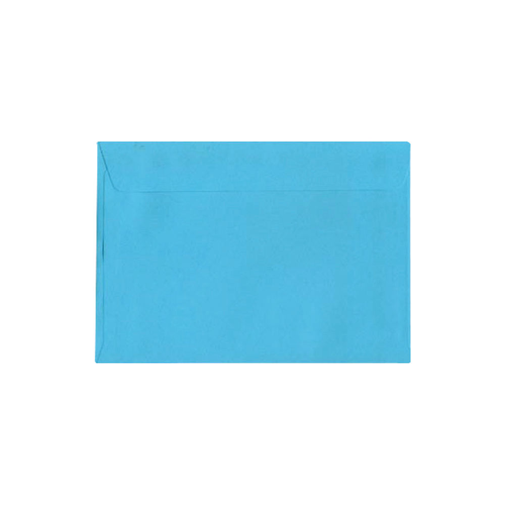 C5 Wallet Envelope Peel and Seal 120gsm Cocktail Blue (Pack of 250) BLK93017