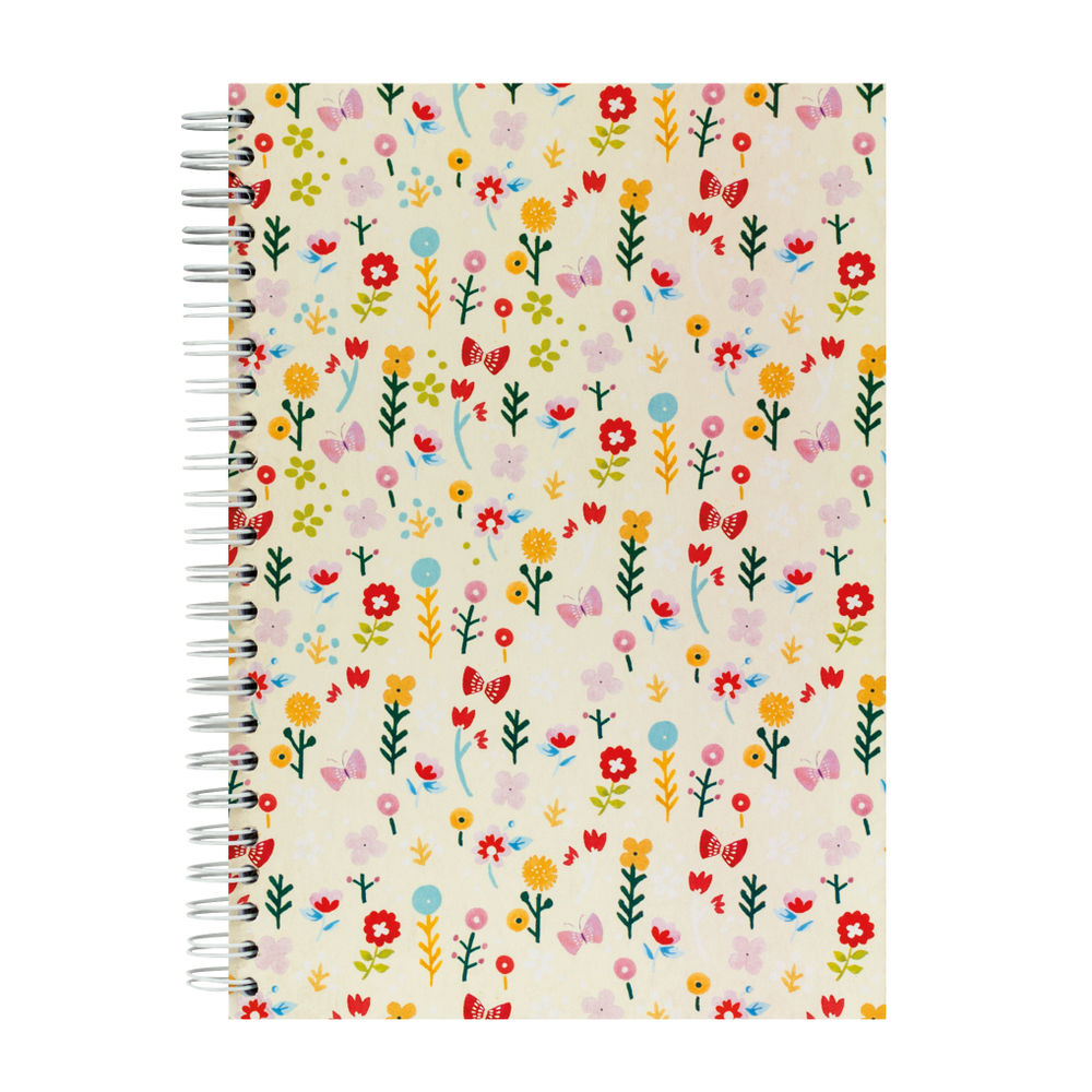 Go Stationery A5 Vintage Ditsy Notebook - 5NC200A