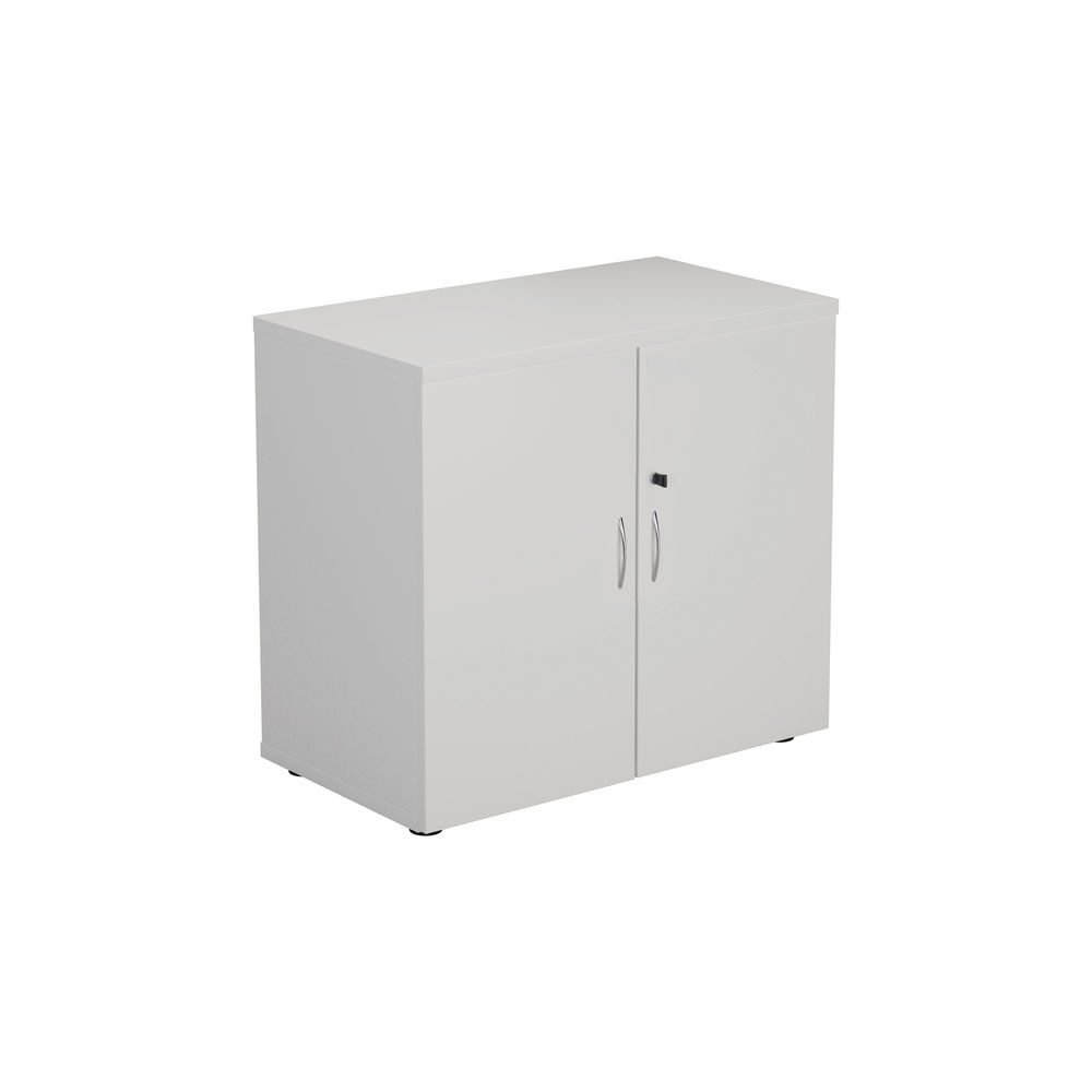 First 730mm White Wooden Storage Cupboard