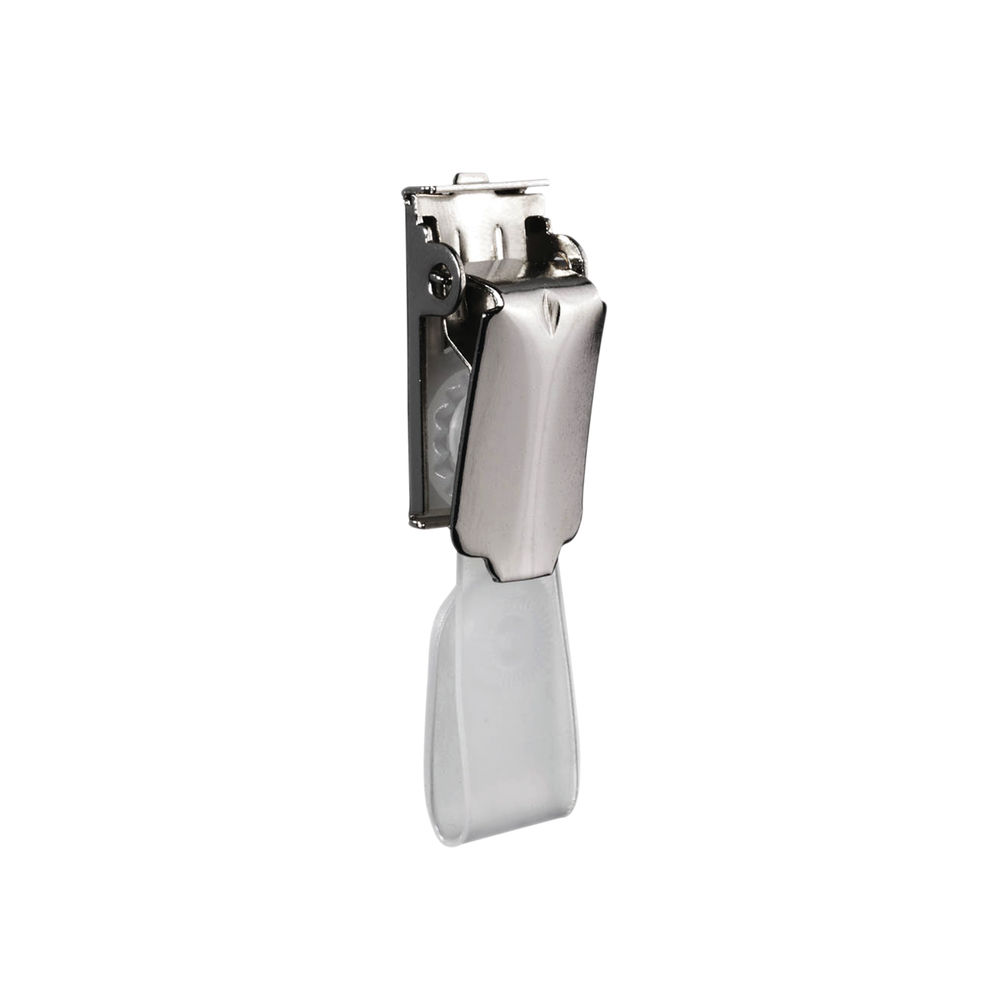 Durable Nickel Plated Name Badge Clips, Pack of 25 - 8103