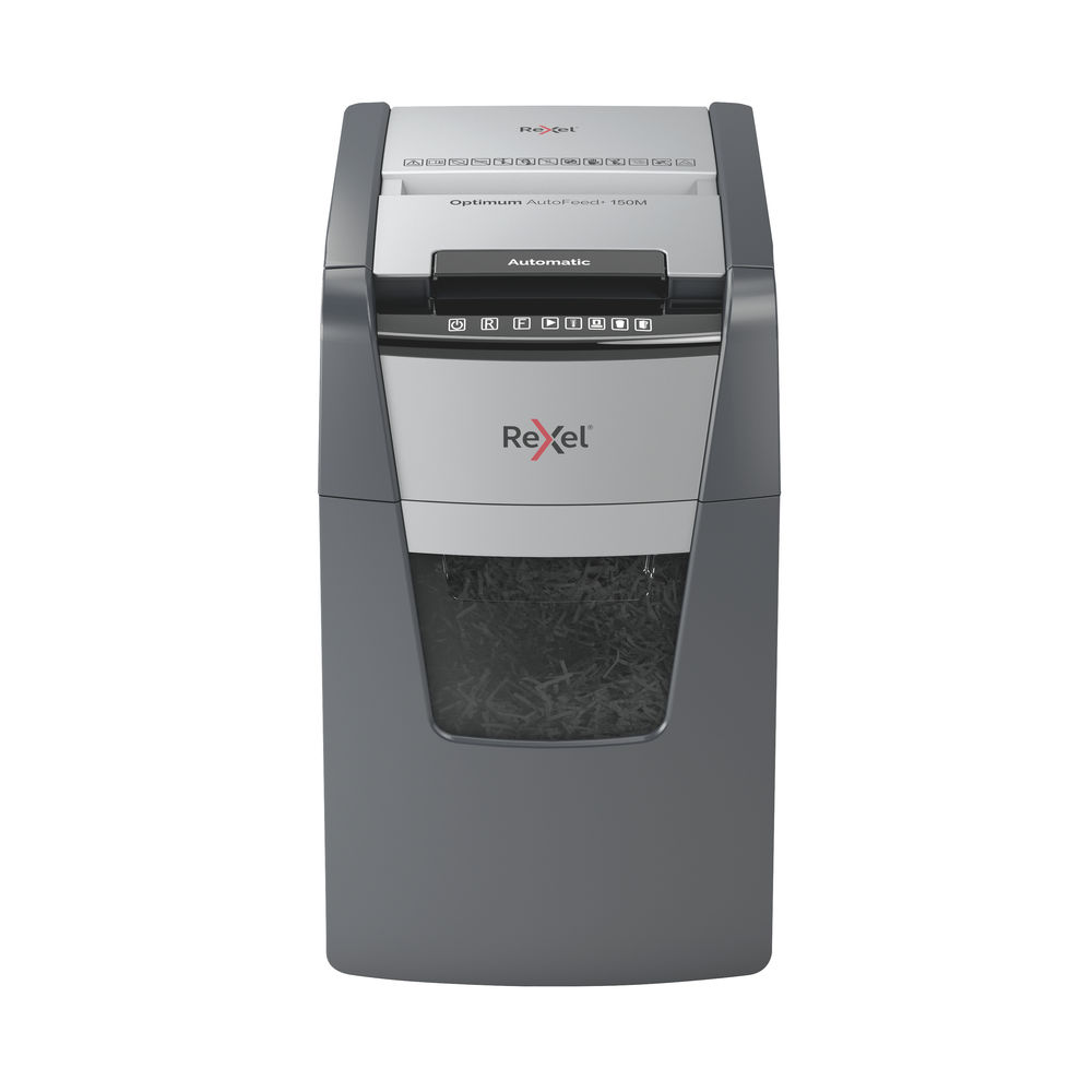 Rexel Optimum AutoFeed+ 150M Micro Cut Shredder | 2020150M