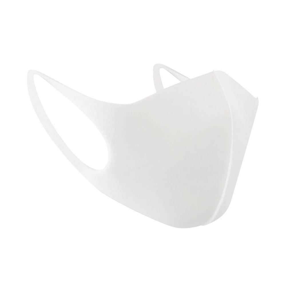 Whitebox White Reusable Polyurethane Face Mask - WX07415