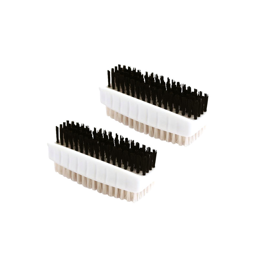 White Plastic Nail Brushes, Pack of 2 - VOWCL.190/2