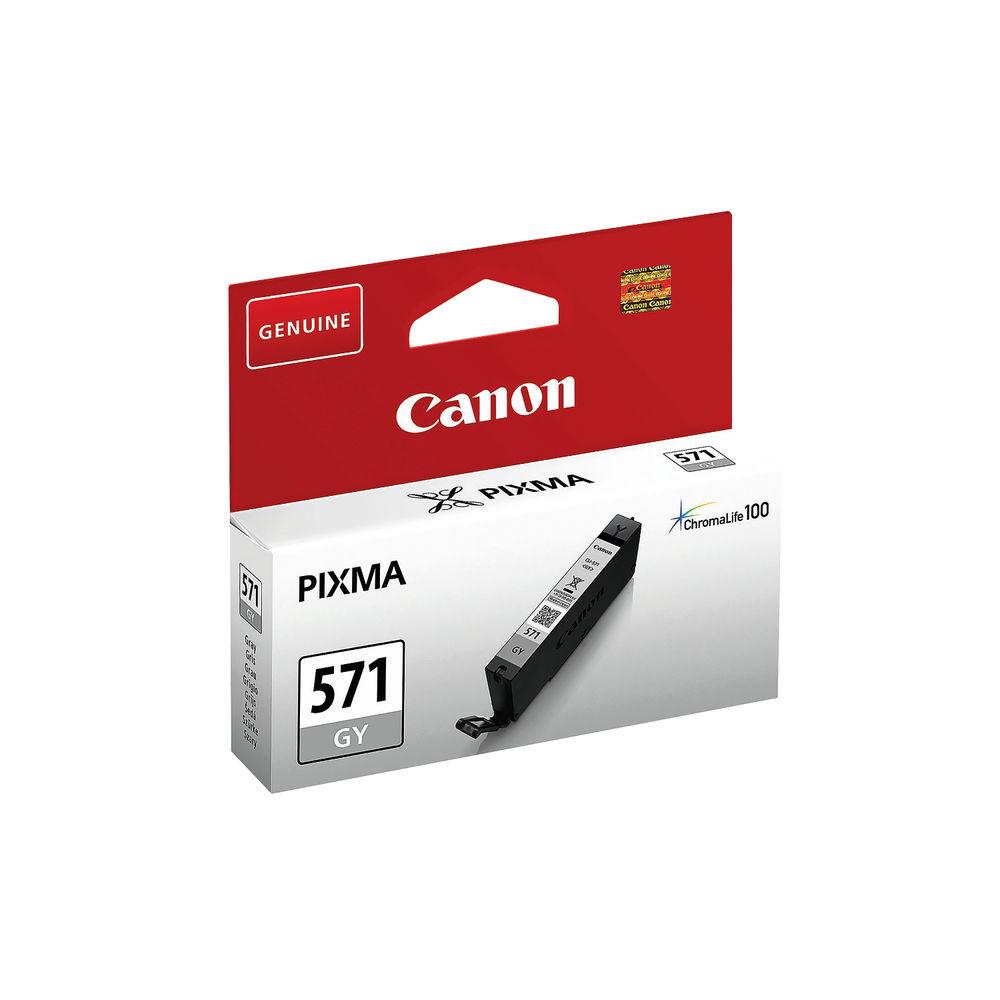 Canon CLI-571GY Grey Ink Cartridge - CLI-571 GY