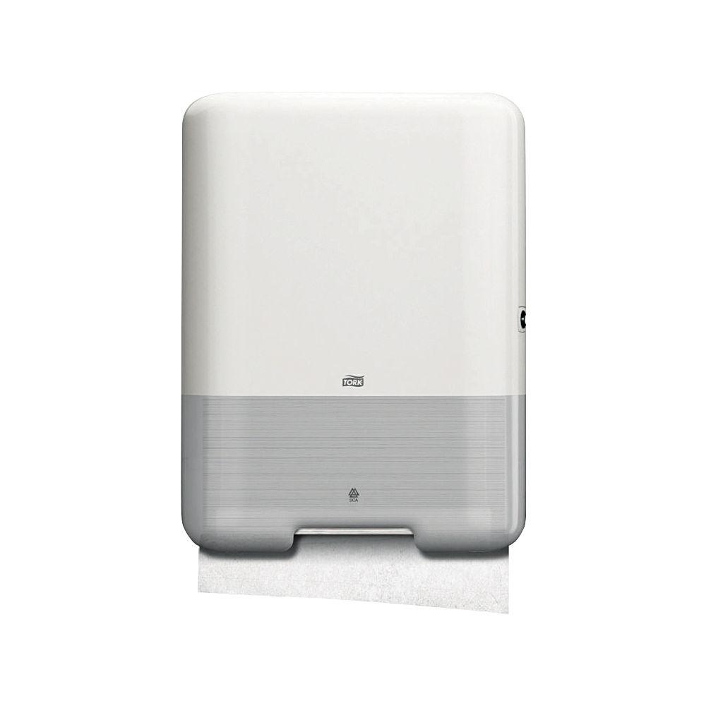 Tork H3 White Singlefold Hand Towel Dispenser - 553000