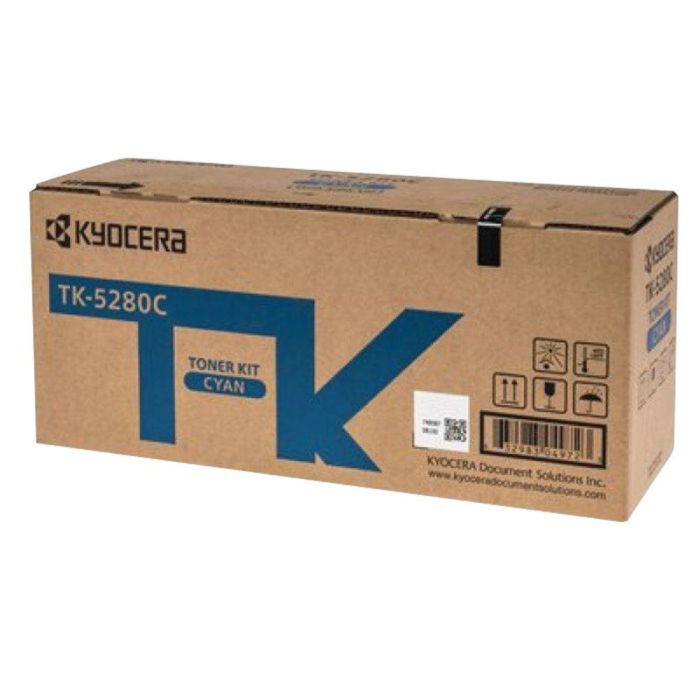 Kyocera Toner Cartridge Cyan TK-5280C (11,000 page capacity) 1T02TWCNL0