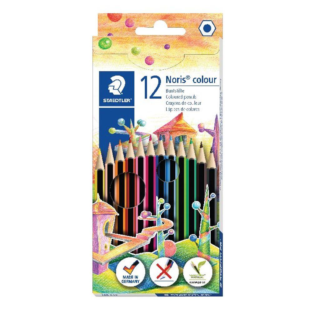Staedtler Noris Colour Colouring Pencils (Pack of 120) - 185 C12
