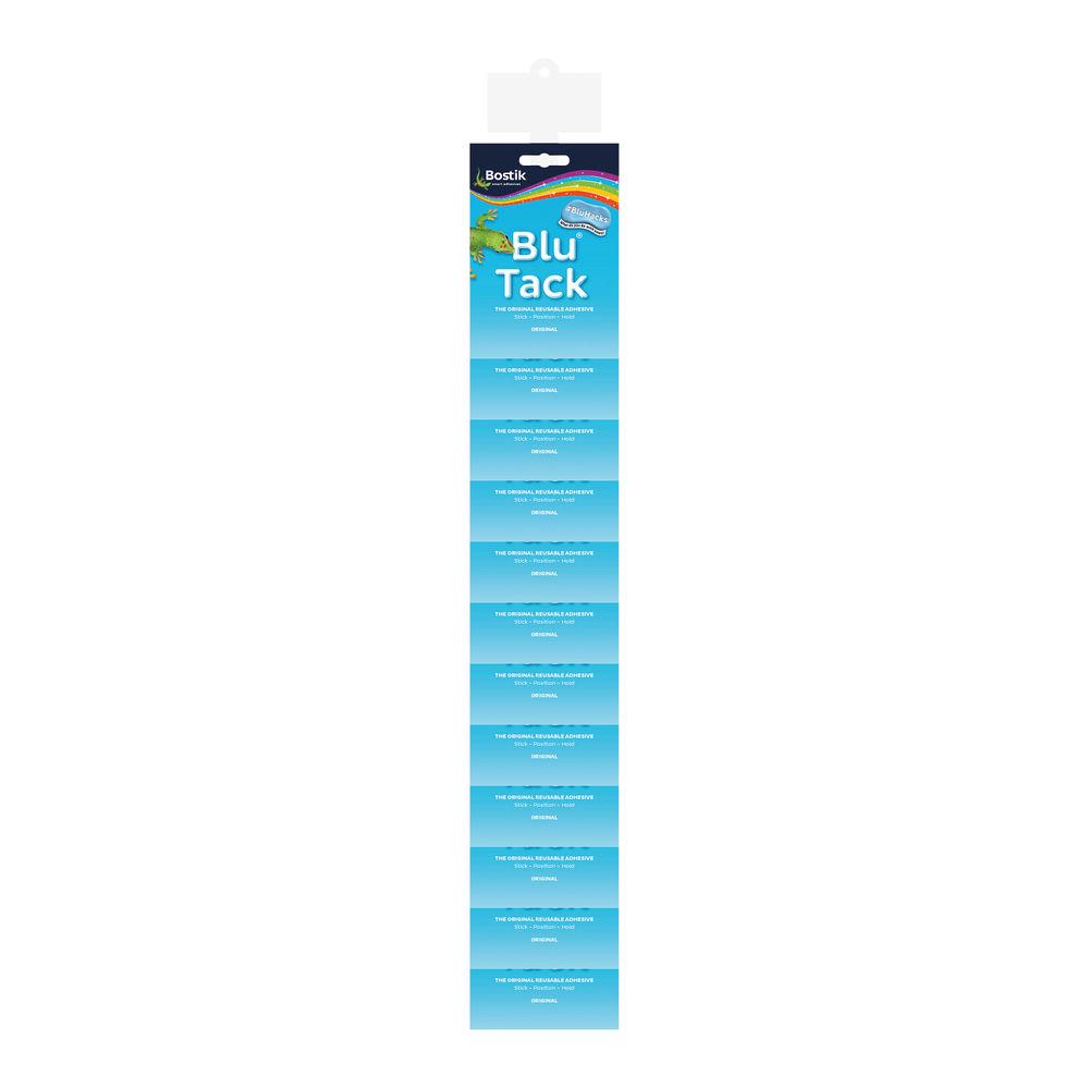 Bostik Blu Tack Impulse Clip Strip (Pack of 12) – 30813273