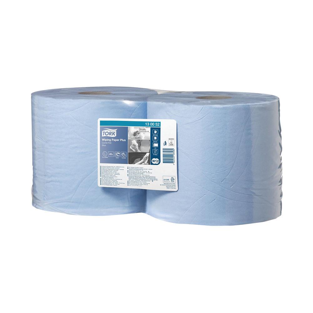 Tork 255m Blue 2-Ply Rolls, Pack of 2 - 130052