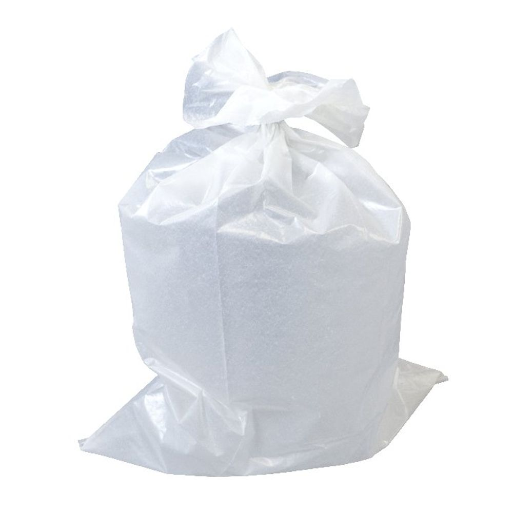 The Green Sack Clear Heavy Duty Rubble Bags, Pack of 100 - GR0302
