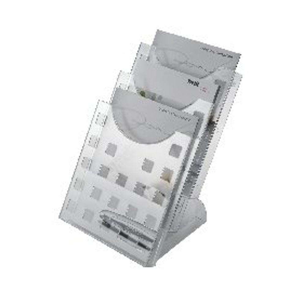Helit A4 Desk Literature Holder - H61027