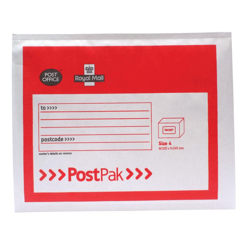 Postpak Size 4 Bubble Envelope (Pack of 40) – 41632