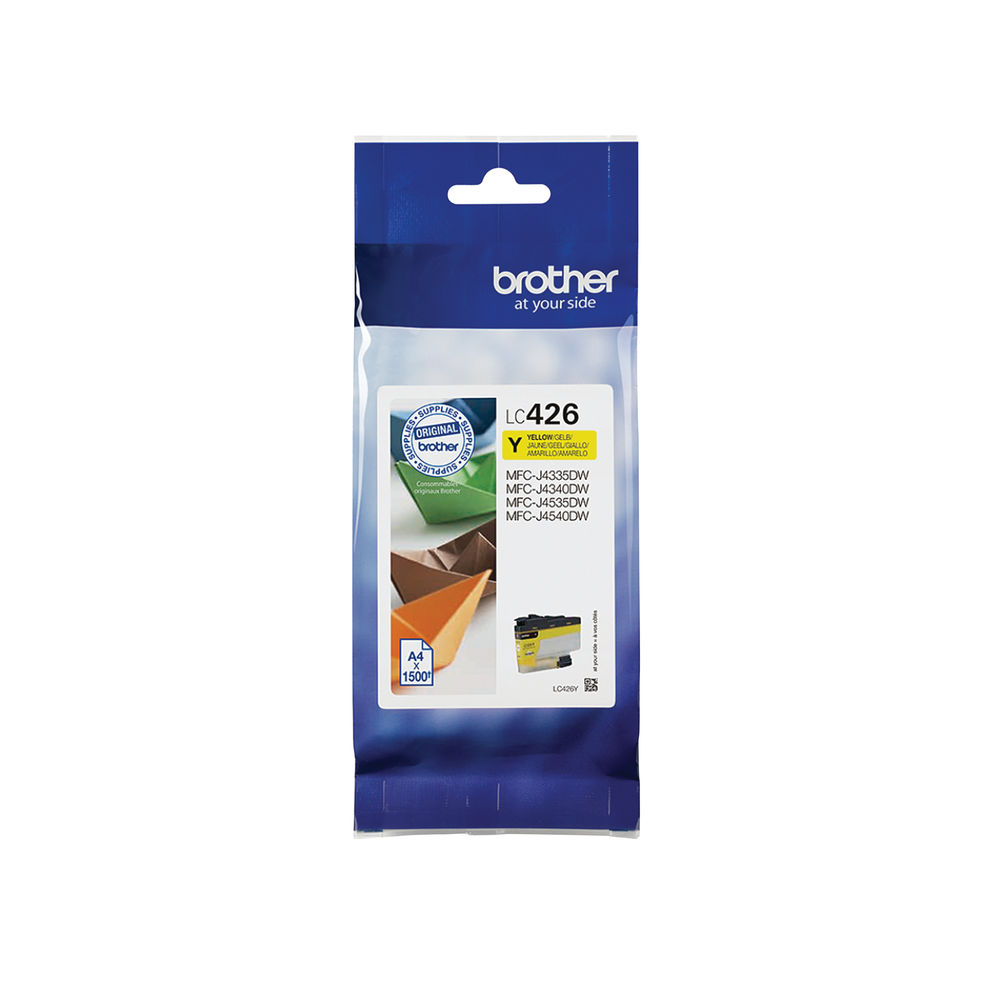 Brother Yellow Ink Cartridge LC426Y