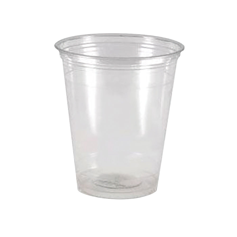 Mycafé Clear Plastic Drinking Water Cups, 7oz  / 20cl - Pack of 1000
