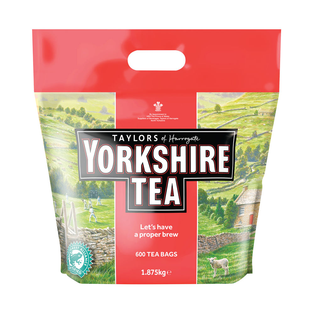 Yorkshire Tea Bags, Pack of 600 - 5006