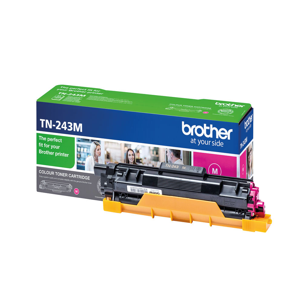 Brother TN-243 Magenta Laser Toner Cartridge - TN243M