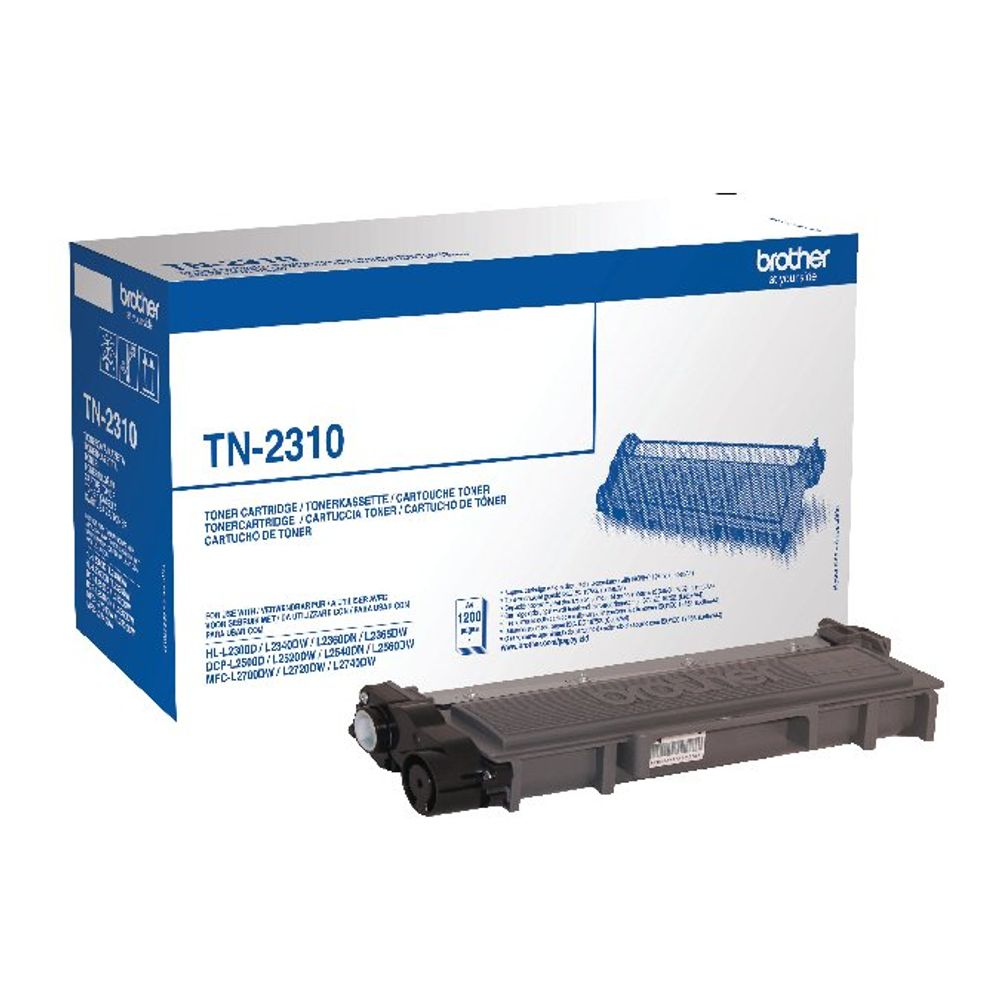 Brother TN2310 Black Laser Toner Cartridge TN-2310