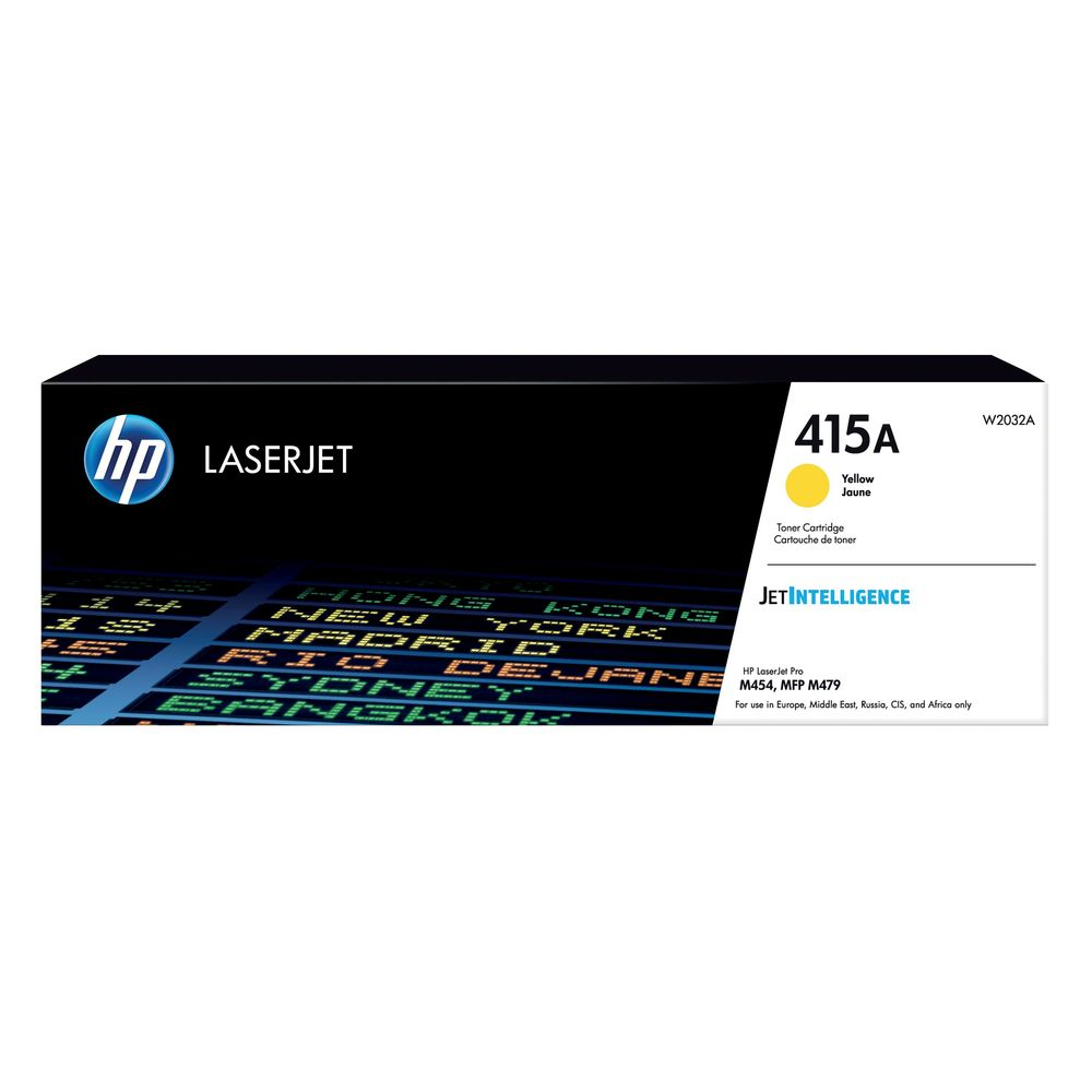 HP 415A Yellow LaserJet Toner Cartridge W2032A