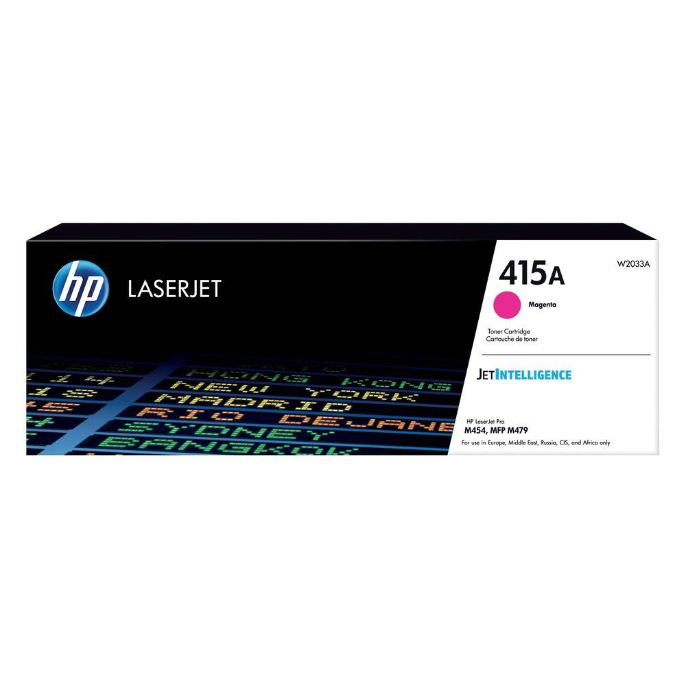 HP 415X Magenta Toner Cartridge - High Capacity W2033X