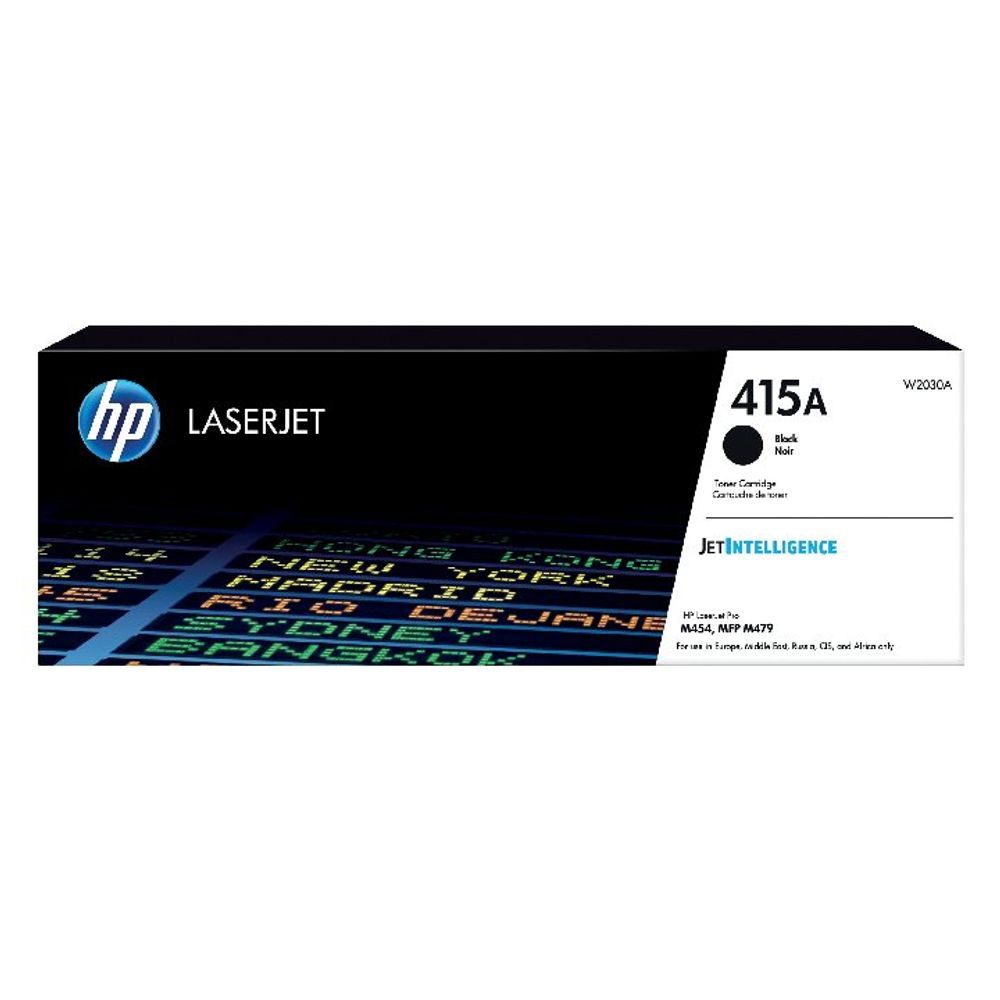 HP 415A Black LaserJet Toner Cartridge W2030A