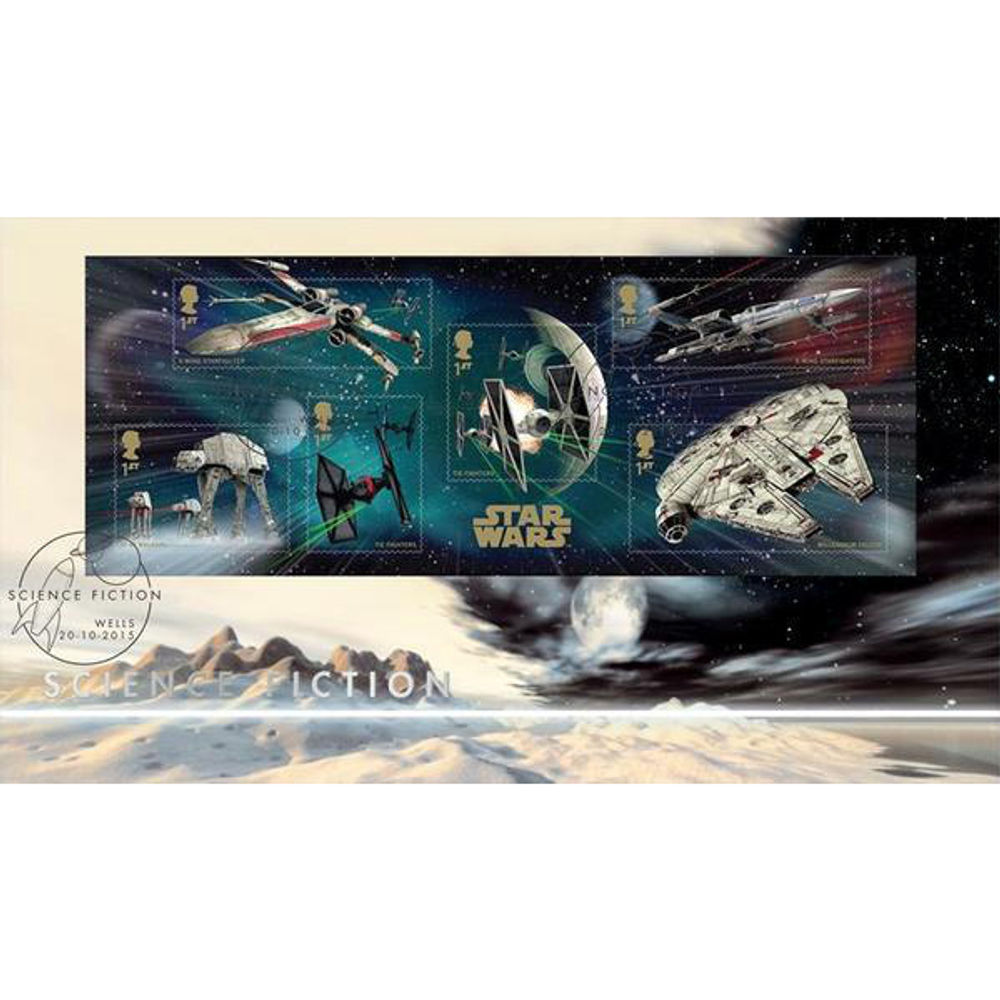 The Science Fiction Miniature Sheet First Day Cover - BC532M