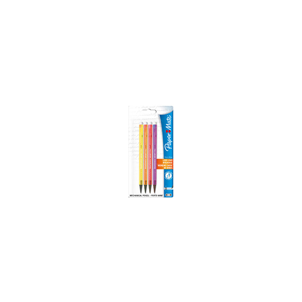 Paper Mate Non-Stop Neon Assorted Mechanical Pencils, Pack of 48 - SO187199