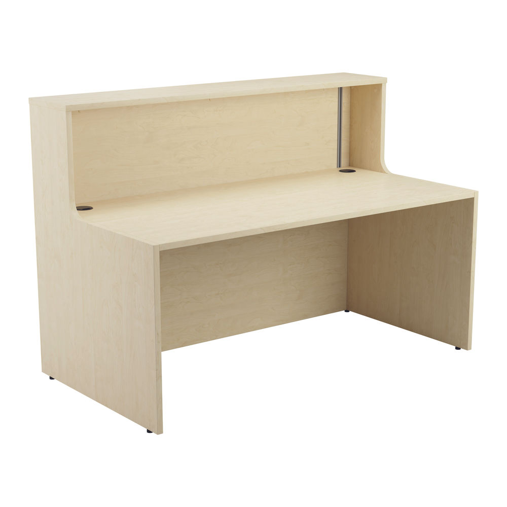 Jemini 1400mm Maple Reception Unit with Extension