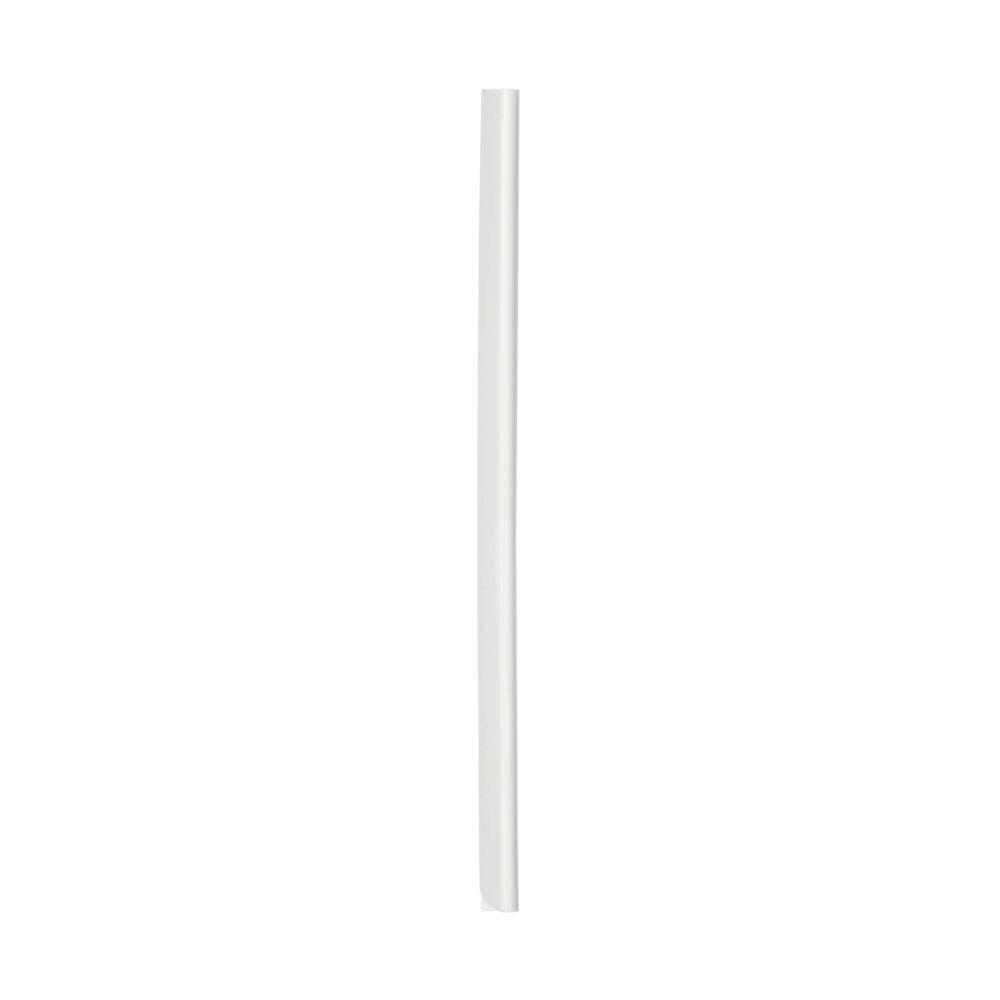 Durable White 6mm Spine Binding Bars, Pack of 100 - 2901/02